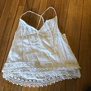 Abercrombie tank blouse size small